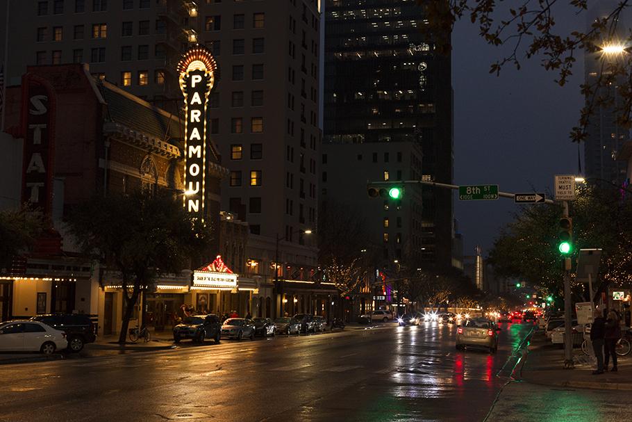 Paramount Theatre, Austin Texas, 2018