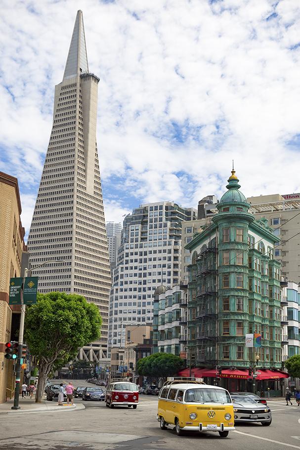 Transamerica Pyramid, San Francisco, 2018